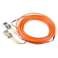 DVI-40-LC Single Link DVI -D Extender with 4 Fixed LC Fiber Optic Cables (40m)