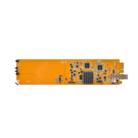 Apantac KVM Extenders with either copper or fiber output based on 1 Gig Ethernet
