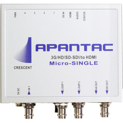 Apantac Production Quality Compact Video Converter/Scaler with color correction